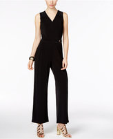 Thalia Sodi Lace-Trim Hardware Jumpsuit, Only at Macy's