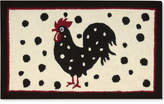 """Nourison Rooster Dots 1'8"""" x 2'9"""" Accent Rug Bedding"""