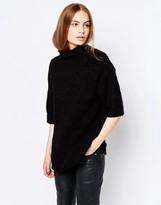 Just Female Aviv 3/4 Sleeve Knit Sweater