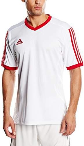 adidas Children's Football Jersey TABELA14 1/4-Sleeve - White