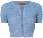 Missoni cropped textured knit cardigan