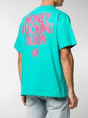 Honey Fucking Dijon short sleeve printed logo T-shirt