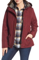 Barbour Women's 'Millfire' Hooded Quilted Jacket