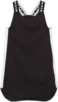 DKNY Black Branded Strap Sports Dress