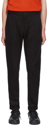 Paul Smith Black Elasticized Waist Trousers