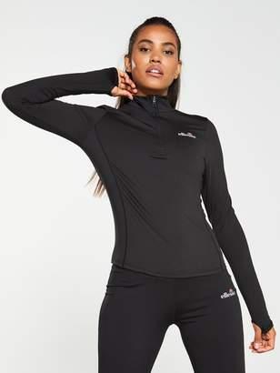 Ellesse Sport Namora 1/4 Zip Track Top - Black