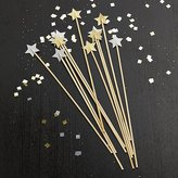 Crate & Barrel Party Star Swizzle Sticks, Set of 12
