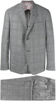 Thom Browne Prince of Wales two-piece suit - men - Cupro/Wool - II