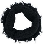 Julius distressed infinity scarf