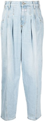 Closed Tapered-Leg Jeans