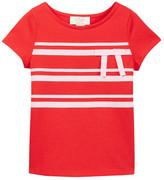 Kate Spade Ribbon Bow Tee (Toddler & Little Girls)