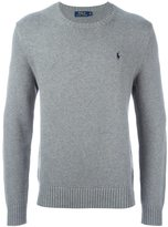 Polo Ralph Lauren logo embroidered sweater - men - Cotton - M