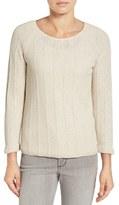 Nic+Zoe Women's 'Pop Top' Scoop Neck Sweater