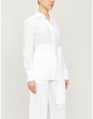 Pdn London Valentina linen shirt