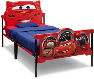 Equipment Delta Children Cars Plastic 3D Twin Bed