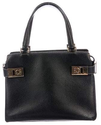Salvatore Ferragamo Belted Gancio Handle Bag