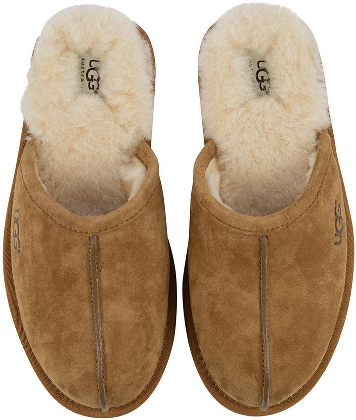 7f689fa10cf Men's Scuff Slippers - Chestnut - UK 12