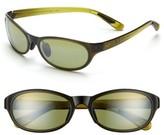 Maui Jim Women's Pipiwai Trail 56Mm Polarized Sunglasses - Gloss Black