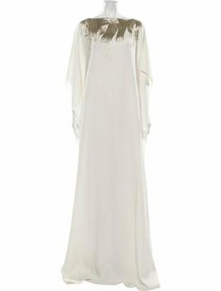 Oscar de la Renta 2020 Long Dress White