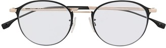 HUGO BOSS Round-Frame Eyeglasses