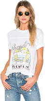 Wildfox Couture Answer Tee in White. - size M (also in S,XS)