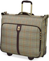 """London Fog Knightsbridge 44"""" Rolling Garment Bag, Available in Brown and Grey Glen Plaid, Created for Macy's"""