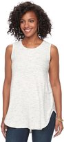 Apt. 9 Women's Ribbed Tunic Tank