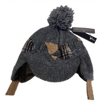 Nobis Grey Cashmere Hats