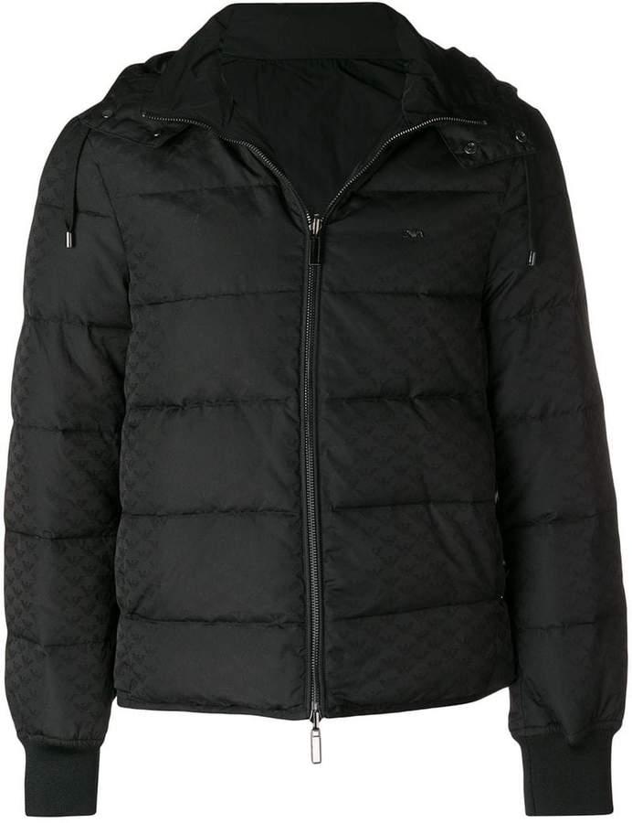 Emporio Armani hooded padded jacket