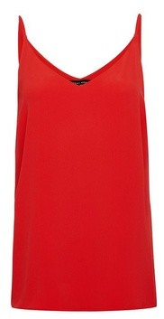 Dorothy Perkins Womens Red Camisole Top, Red