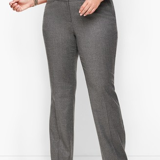 Talbots Luxe Flannel Windsor Pants