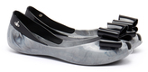Melissa Queen Smoke Marble Bow Flats