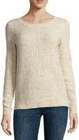 Liz Claiborne Long-Sleeve Crewneck Sweater