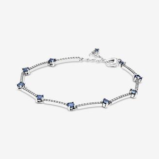 Pandora Sparkling Pave Bars Bracelet