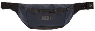 Master-piece Co Navy and Black Slick Waist Bag
