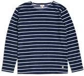 Armor Lux Mariniere Heritage Sweatshirt Blue & White