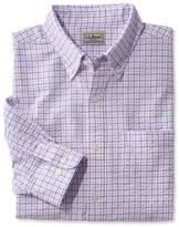 L.L. Bean Seersucker Shirt, Long-Sleeve Tattersall