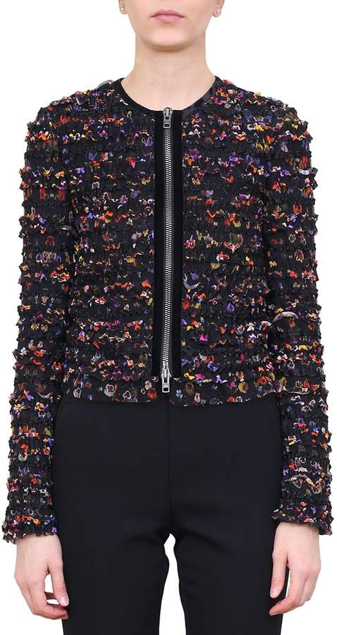 Givenchy Ruffled Tulle Jacket