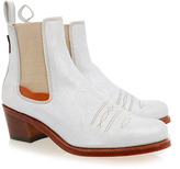 Penelope Chilvers Salva Silver Ankle Boot