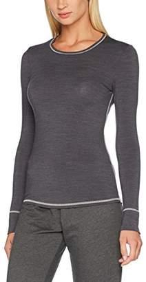 Skiny Active Wool Women Shirt Langarm Thermal Top,16 (Size: )