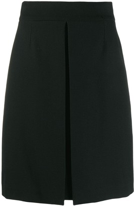 Chanel Pre Owned 2000s Box Pleat Skirt