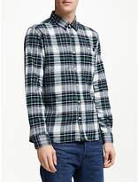 Edwin Tripple Check Shirt, Sycamore
