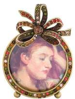 Jay Strongwater Embellished Mini Picture Frame