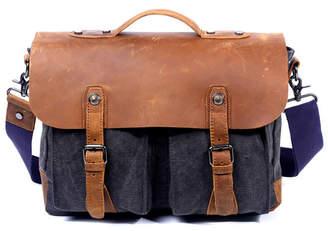 Hudson Tsd Brand Canvas Messenger Bag