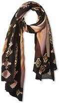 Theodora & Callum Women's Deer Valley Wearable Art Blanket Scarf, Olive