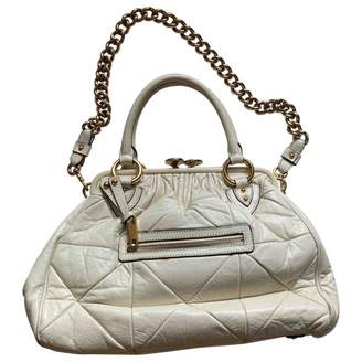 Marc Jacobs Stam Beige Leather Handbags