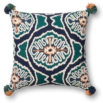 Loloi Rugs Justina Blakeney Cotton Throw Pillow
