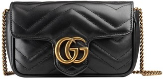 Gucci GG Marmont matelasse leather mini bag