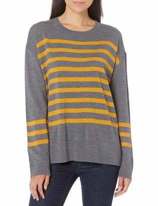 Pendleton Women's Striped Merino Crew Neck Sweater