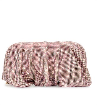 Benedetta Bruzziches Crystal-Embellished Clutch Bag